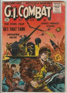 G.I. Combat # 38 Strict VG Affordable-Grade Content East/West Berlin Spy Story!