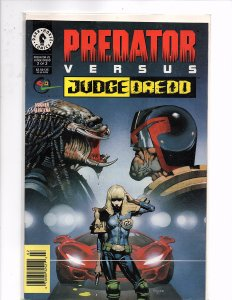 Dark Horse Comics (1997) Predator vs. Judge Dredd #2