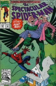 Marvel THE SPECTACULAR SPIDER-MAN (1976 Series) #187 VF/NM
