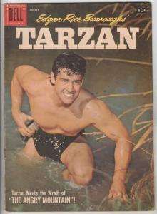 Tarzan #95 (Aug-57) VG/FN Mid-Grade Tarzan, Boy, Cheetah