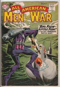 All-American Men of War #77 (Feb-60) VF High-Grade Frogman