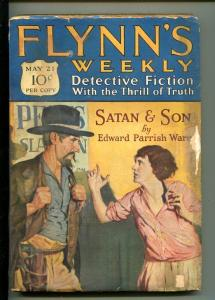 FLYNN'S WEEKLY DETECTIVE FICTION-MAY 21 1927-PULP-CRIME-MYSTERY-WARE-good