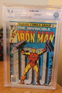 Iron Man #100 (Marvel, 1977) CBCS NM+ 9.6 White pages