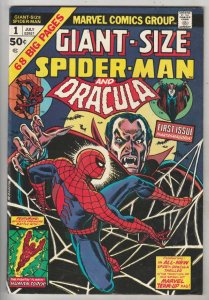 Giant-Size Spider-Man and Dracula #1 (Jul-74) VF/NM High-Grade Spider-Man