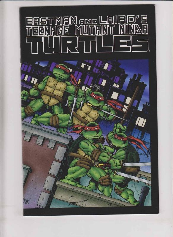 teenage mutant ninja turtles color special 1 vf nm printing eror