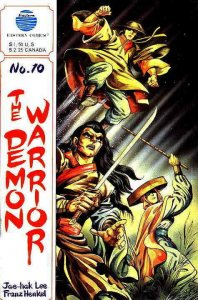 Demon Warrior, The #10 VG; Eastern | low grade comic - save on shipping - detail