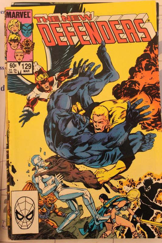 New Defenders 129 VF/NM