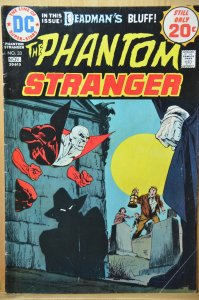 The Phantom Stranger #33 (1974) Deadman's Bluff !