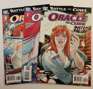 Oracle The Cure Battle For The Cowl #1-3 Complete Set High Grade NM DC 2009