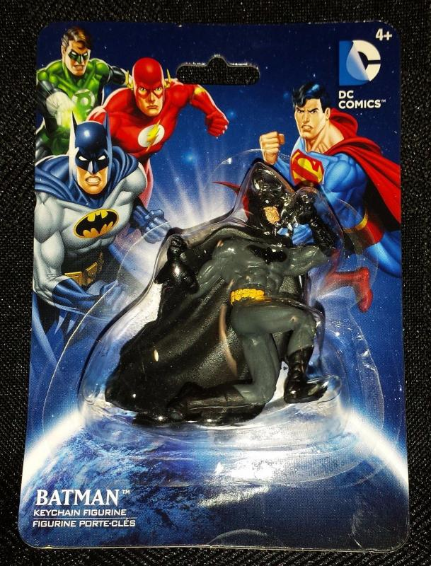 Batman Fighting Pose Keychain Figurine (DC Comics/Monogram) - New!