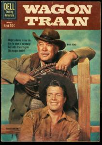WAGON TRAIN #8-PHOTO COVER-DELL WESTERN VG