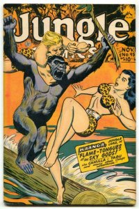 Jungle Comics #95 1947- headlight cover VF-