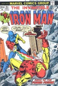 Iron Man (1968 series) #63, VG+ (Stock photo)