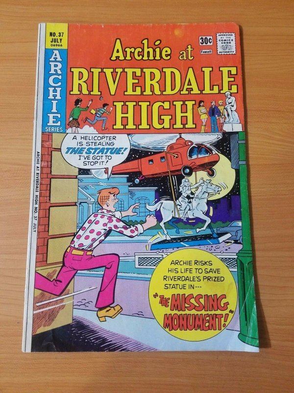 Archie at Riverdale High #37 ~ VERY GOOD - FINE FN ~ (1976, Archie Comics)