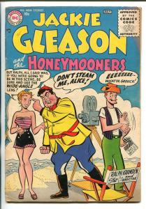 JACKIE GLEASON AND THE HONEYMOONERS #1 1956-DC-MEADOWS-CARNEY-KRAMDEN-vg