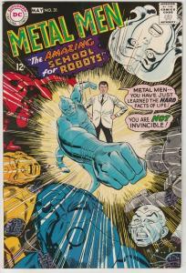 Metal Men #31 (May-68) NM Super-High-Grade Metal Men (Led, Tina, Tin, Gold, M...