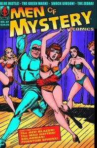 MEN OF MYSTERY COMICS #87 & MISS MASQUE STRIKES BACK #1 AC COMICS NEAR MINT.