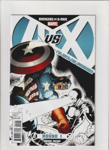Avengers vs X-Men #1 VF/NM 9.0 Avengers Variant Marvel Comics AvsX
