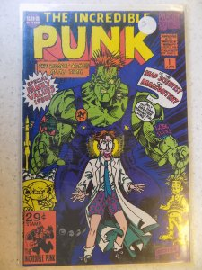 THE INCREDIBLE PUNK # 1