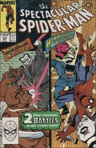 Marvel THE SPECTACULAR SPIDER-MAN (1976 Series) #153 VF
