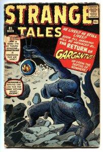 STRANGE TALES #85 comic book-1961-MARVEL-KIRBY & DITKO-GARGANTUS