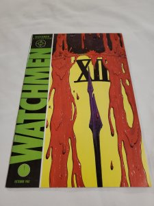 Watchmen 12 Very Fine+ Cover by Dave Gibbons