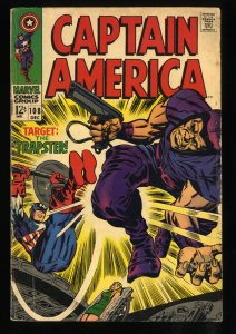 Captain America #108 VG 4.0