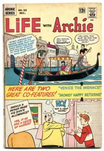 Life With Archie #32 1964-Betty & Veronica- Venice cover VG