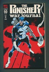 Punisher War Journal #50  / 9.4 NM /  January 1993