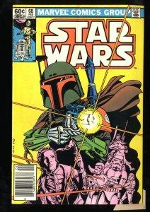 Star Wars #68 FN+ 6.5 1st Mandalorian! Newsstand Edition!