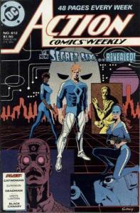 Action Comics (1938 series) #612, VF+ (Stock photo)