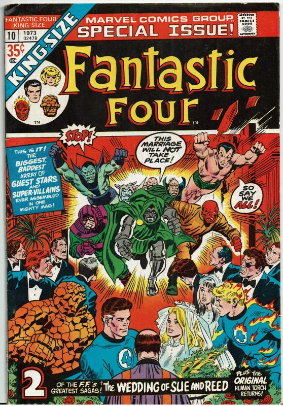 Fantastic Four, King Size #10, 5.0 or Better