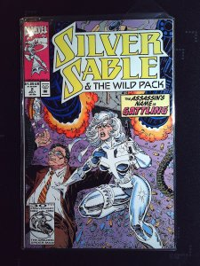 Silver Sable and the Wild Pack #2 (1992)