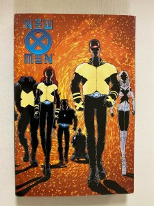 New X-Men HC #1 by Grant Morrison 6.0 FN price tag on rear (2001)