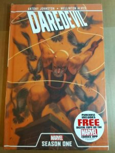 Daredevil Season One by Anthony Johnston (Hardcover 2012) New and sealed!