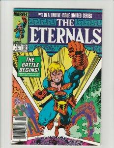 Eternals #1 (Marvel 1985) 12 Issue Mini-Series Newsstand Variant VF Jack Kirby