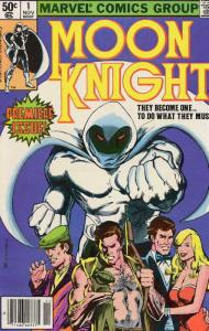 Moon Knight (1st Series) #1 FN; Marvel | save on shipping - details inside