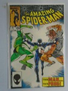Amazing Spider-Man #266 Direct edition 8.0 VF (1985 1st Series)