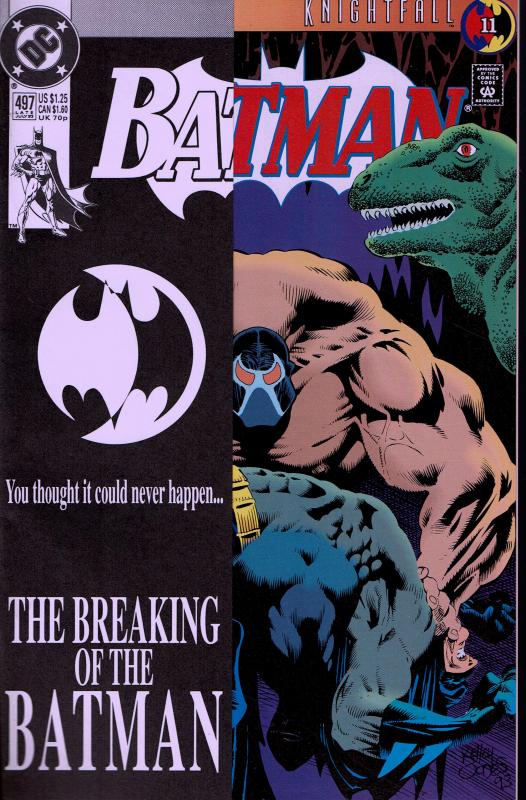 Batman #497 - Breaking of the Bat - NM - 1993