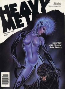 Heavy Metal #93 VF/NM; Metal Mammoth   save on shipping - details inside