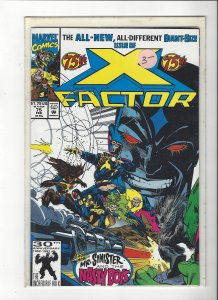 X-Factor #75 All New, All Different Peter David Giant Size NM