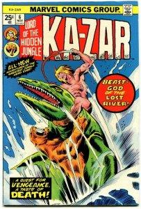 Ka-Zar #4 (F/VF) 1974 OW/W Bronze Age Marvel ID001