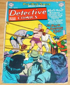 Detective Comics #174 august 1951 - batman & robin -pow-wow smith - boxing cover
