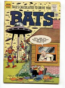 Tales Calculated To Drive You Bats #3 1962-Archie-flying saucer-parody-VG