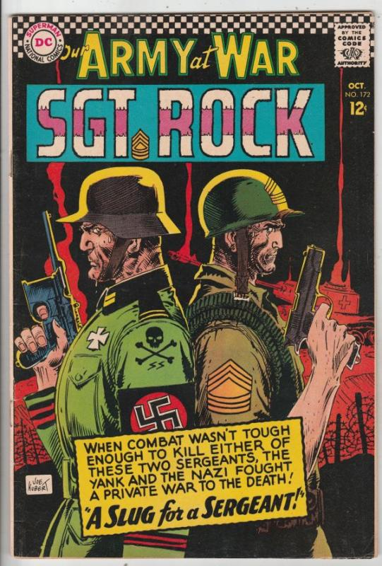Our Army at War #172 (Oct-66) VG/FN+ Mid-Grade Easy Company, Sgt. Rock