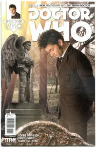 DOCTOR WHO #7 B, VF+, 10th, Tardis, 2014, Titan, 1st, more DW in store, Sci-fi
