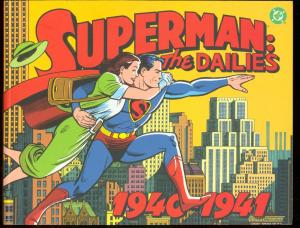 SUPERMAN: THE DAILIES 1940-1941 FIRST PRINTING DC FN