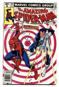 AMAZING SPIDER-MAN #201 comic book-1980-PUNISHER-MARVEL-HIGH GRADE