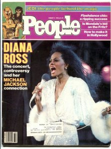 People Weekly 8/8/1983- Diana Ross- STAR WARS