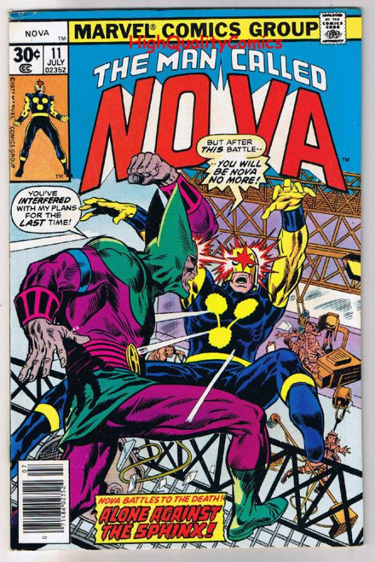 NOVA #11, FN/VF, Sphinx, Buscema, Marv Wolfman, 1976, more in store